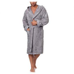 albornoz microfibra hombre con capucha barato