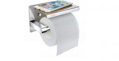 porta rollos papel higienico baño