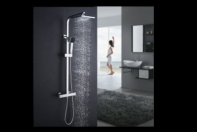 columnas de ducha termostaticas