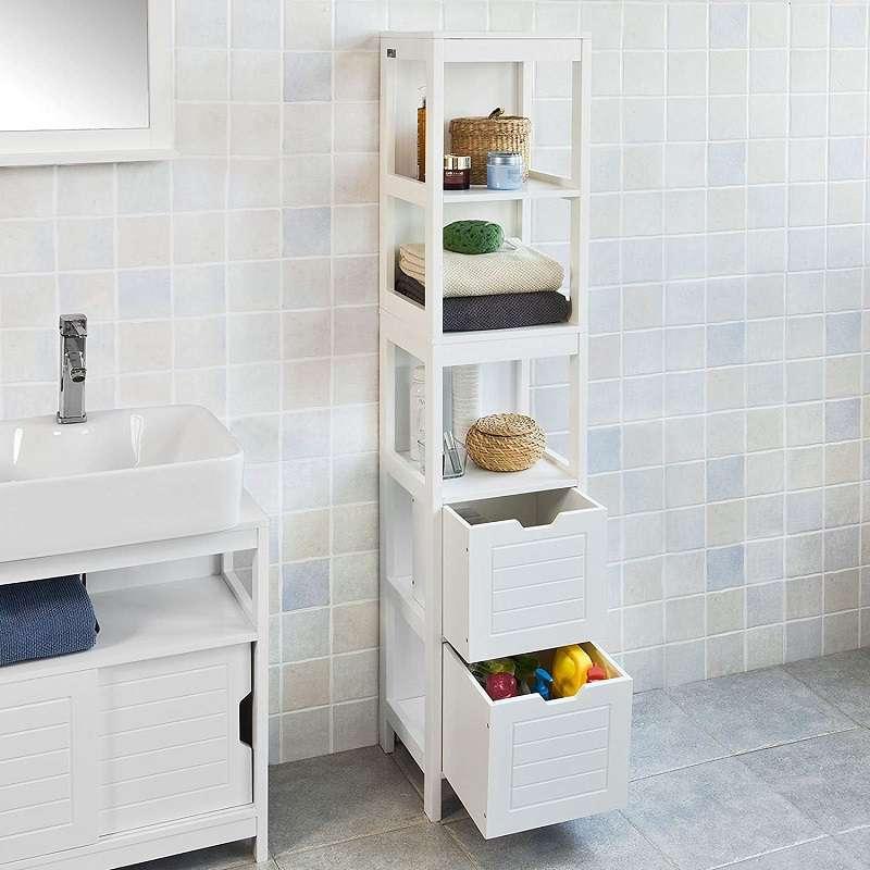 mueble columna baño armario